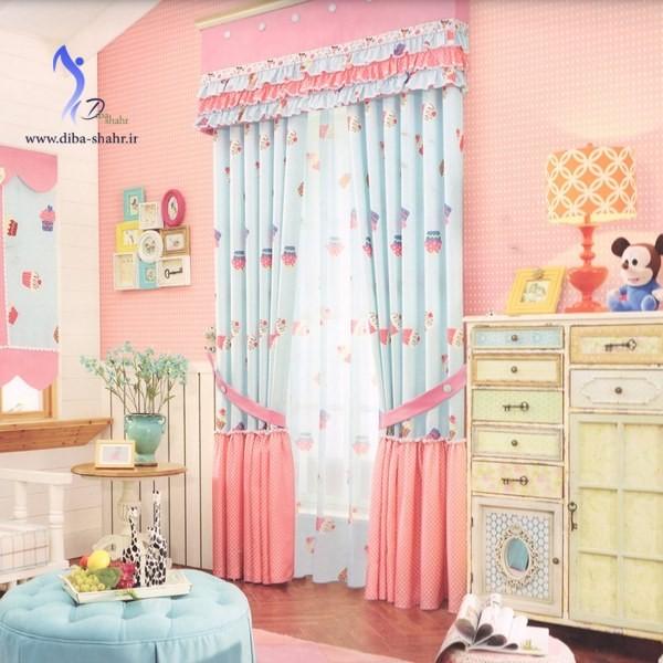 مدل جدید پرده اتاق کودک