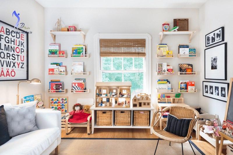 چگونه اتاق کودک را تزیین کنیم